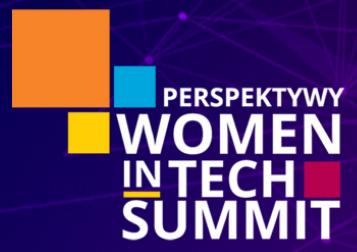 Logo of Perspektywy Women in Tech Summit